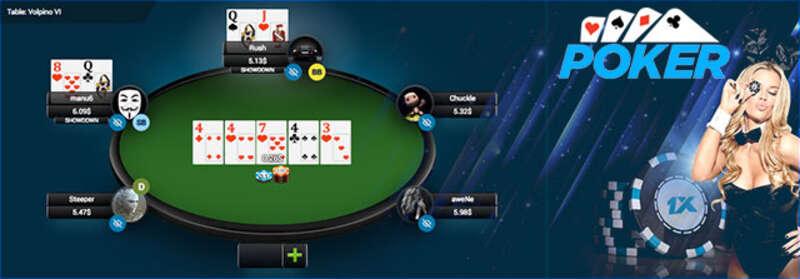 สนุกไปกับ Poker Thailand บน 1xBet ฟรี